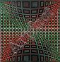 Victor Vasarely (Hungarian/French, 1908-1997) Composition screenprint 178/250