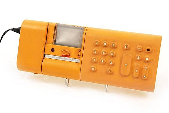 MARIO BELLINI (born 1935)A DIVISUMMA 18 ELECTRONIC CALCULATOR, DESIGNED 1972