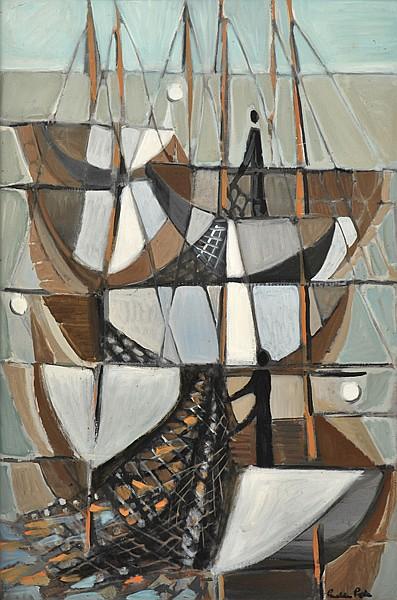GUELDA PIKE (BORN 1905) Early Dawn oil on board