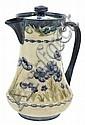 A MOORCROFT MACINTYRE BLUE POPPY PATTERN COFFEE POTCIRCA 1903