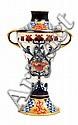 A MOORCROFT MACINTYRE AURELIAN WARE TWIN HANDLED VASECIRCA 1913