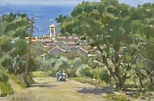 § COLIN COLAHAN (1897-1987) Cassis 1946 oil on canvas