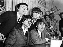 THE BEATLES DURING PRESS CONFERENCE II