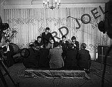 THE BEATLES DURING PRESS CONFERENCE IV
