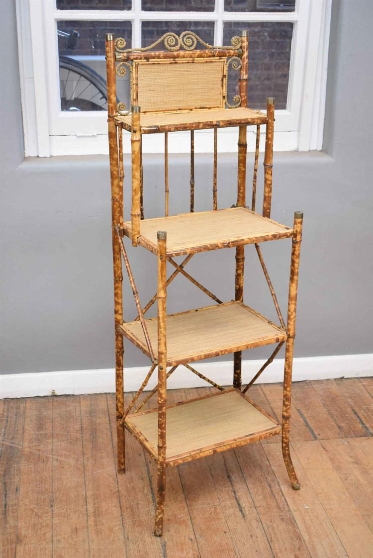 A Late 19th Century Queensland Four Tier What Not