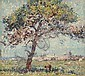 Robert Richmond Campbell (1902-1972) Pine Tree Port Elliott 1966 oil on board, Robert (1902) Campbell, Click for value