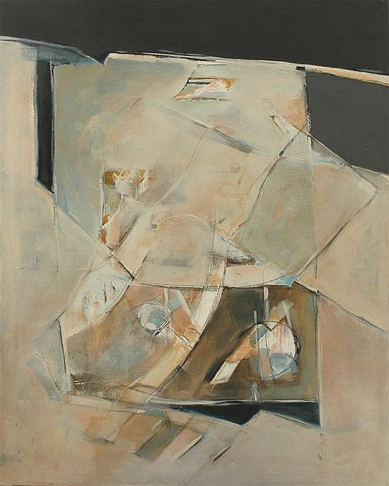 Bruno Leti (born 1941) Untitled 1976 oil on canvas