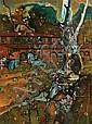 Reinis Zusters (1919-1999) Eltham Inspirations oil on board, Reinis Zusters, Click for value