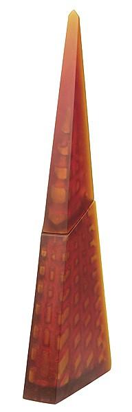 EMMA CAMDEN (NEW ZEALANDER, BORN 1966) Secret Tower 1998 lost wax, cast glass
