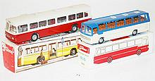 TWO TEKNO BUSES INCLUDING 851 AND 950 (E-M BOXES G-VG) (2)