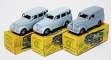 THREE CIJ MODELS INCLUDING 3/66 BREAK 300KGS RENAULT; AND 2 X 3/67 FOURGONNETTE 300KGS RENAULT (E-M BOXES P-G) (3)