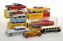 COLLECTION OF DINKY MODELS INCLUDING 57/003 CHEVROLET IMPALA;