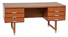 KAI KRISTENSEN (DANISH, BORN 1929) DOUBLE-SIDED DESK