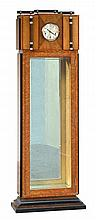 GOLDMAN ART DECO CLOCK DISPLAY CABINET