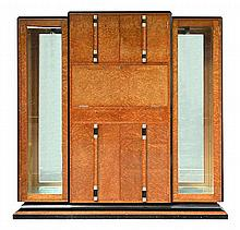 GOLDMAN ART DECO COCKTAIL DISPLAY CABINET