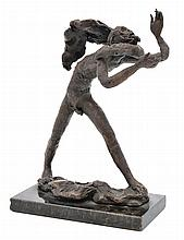 LENORE BOYD (born 1953) Tale of the Ancient Mariner bronze