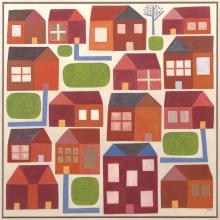 JILL NOBLE (born 1962) Home Arrangement 2005 oil on linen