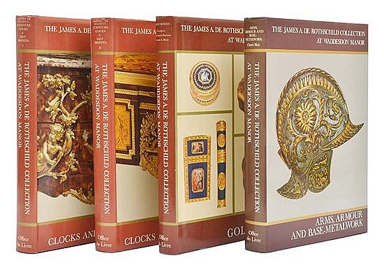 FOUR VOLUMES OF THE JAMES A. DE ROTHSCHILD COLLECTION AT WADDESDON MANOR