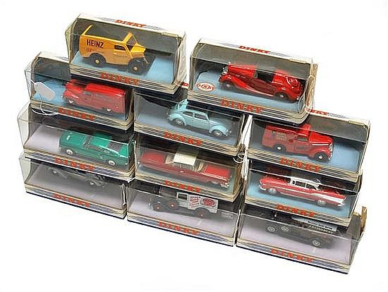 TWELVE MATCHBOX DINKY COLLECTION MODELS (E-M BOXES VG-M) (12)
