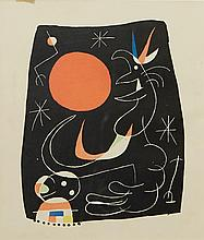 JOAN MIRO (Spanish, 1893-1983) Untitled lithograph