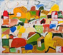 JILL NOBLE (born 1962) Atherton Tablelands 2001 oil on linen