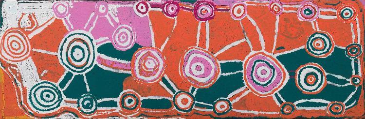 NOLA CAMPBELL (born 1971) Tika Tika Tjukurrpa 2004 acrylic on canvas