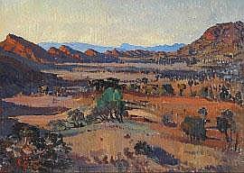 Horace Hurtle Trenerry (1899-1958) Flinders Ranges