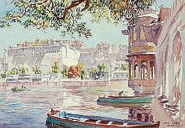 Lionel Arthur Lindsay (1874-1961) Udaipur