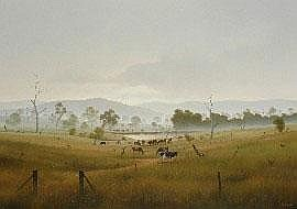 Joseph Ambrose Frost (born 1953) Rising Mist Near