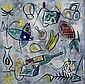 Bernard Hesling (1905-1987) (Untitled) enamel, Bernard Hesling, Click for value