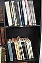 TWO SHELVES OF ASSORTED GRAPHIC AND ART REFERENCE BOOKS