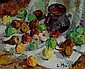 LUDMILLA MEILERTS (1908 - 1998) Apples and Pears, L. Krastina-Meilerte, Click for value