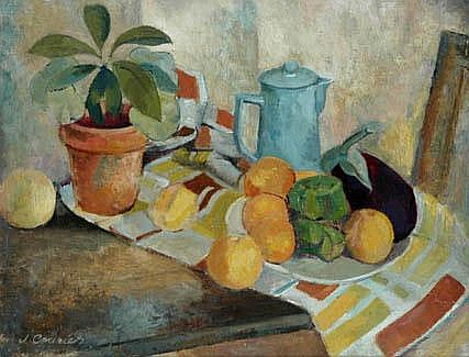 JOHN (JACK) COURIER (1915 - ) Still Life signed