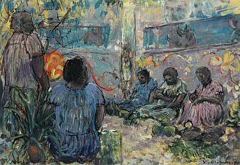 VICTOR GEORGE (VIC) O'CONNOR (1918 - ) Market