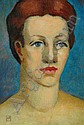 IAN ARMSTRONG (1923 - 2005) Portrait of a Woman,, Ian Armstrong, Click for value