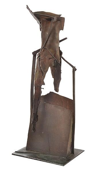 MARIA KUCZYNSKA (BORN 1948) Standing Figure bronze