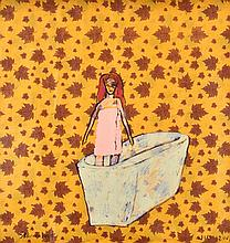 JENNY WATSON (BORN 1951) Stand Alone 2008-2009 acrylic on Chinese wrapping paper