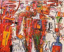 PETER STEPHENSON (BORN 1943) Arena No. 5 2003 oil on canvas