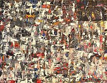 PETER STEPHENSON (BORN 1943) Flag 2 1998 oil on canvas