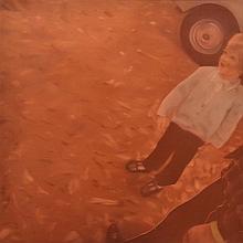 AMANDA MARBURG (BORN 1976) Shawn on Side 2000 oil on canvas
