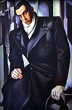 AFTER TAMARA DE LEMPICKA Max, Hyatt Hotel 1978 oil on canvas