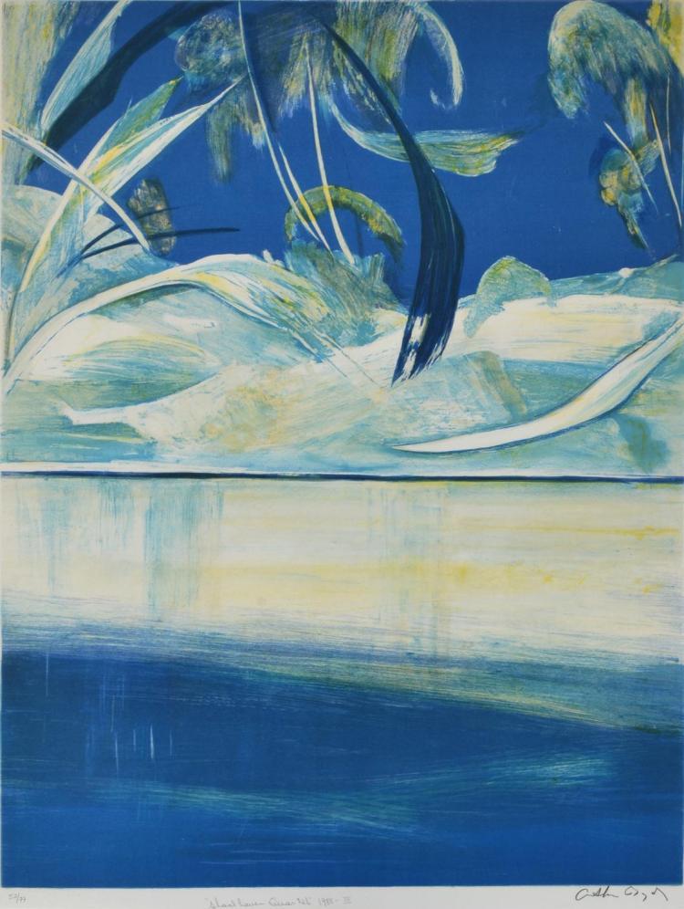 ARTHUR BOYD (1920-1999) Shoalhaven Quartet III 1988 lithograph edition 52/77