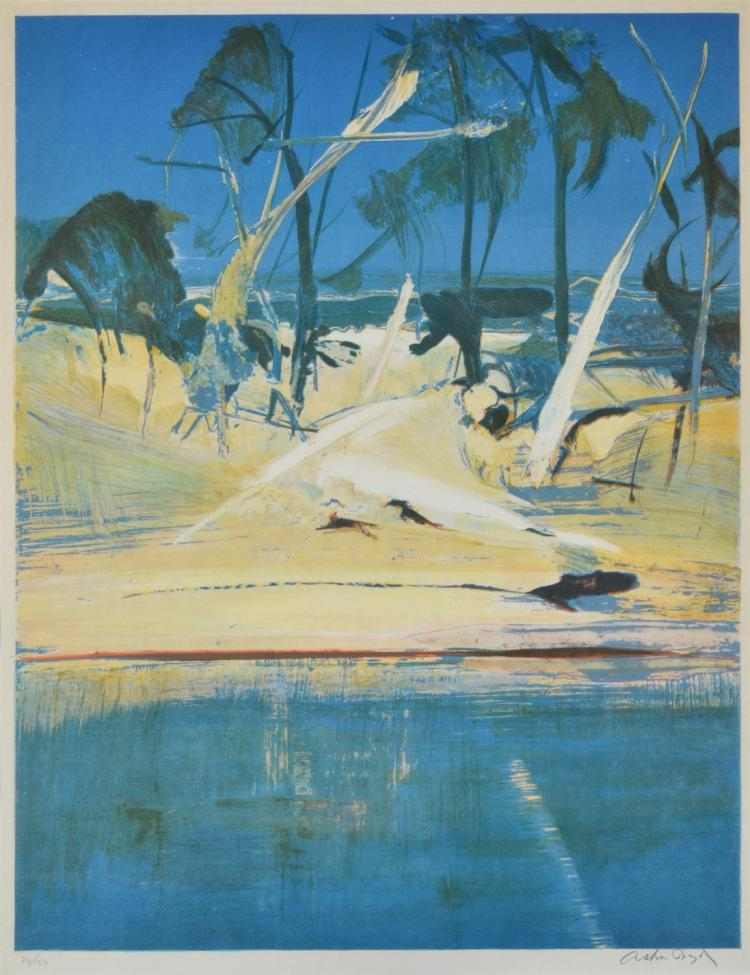 ARTHUR BOYD (1920-1999) Shoalhaven lithograph edition 76/137