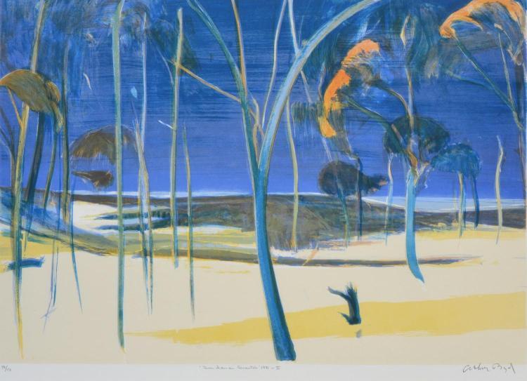 ARTHUR BOYD (1920-1999) Bundanon Quartet III 1991 lithograph edition 98/137