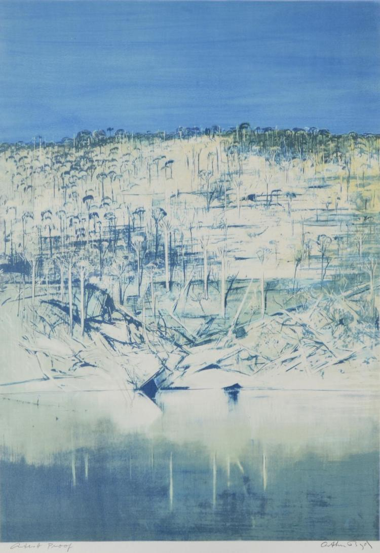 ARTHUR BOYD (1920-1999) Shoalhaven lithograph Artist's Proof