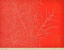 ROBERT JACKS (1943-2014) Lake Botanical 2002 etching edition S/E X/XX