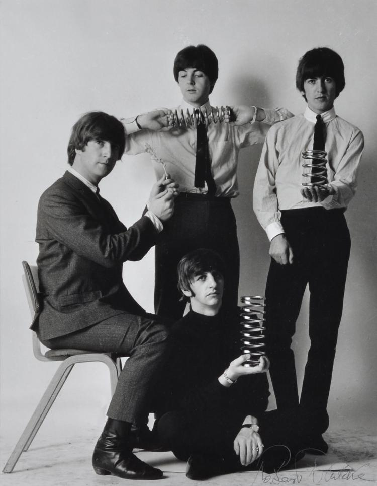 ROBERT WHITAKER (born 1939) The Beatles silver gelatin print