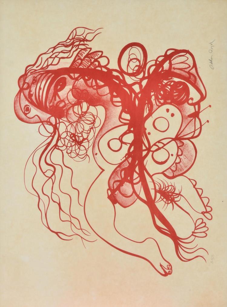 ARTHUR BOYD (1920-1999) Butterfly Man lithograph edition B 4/25