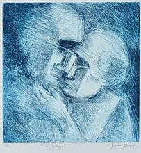 DAVID BOYD (1924-2011) The Betrayal etching edition 3/60