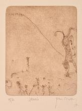 JOHN OLSEN (born 1928) Littorals 1978 etching edition 35/60